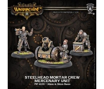 Mercenaries - Steelhead Mortar Crew (3) (metal / resin) (PIP 41155)
