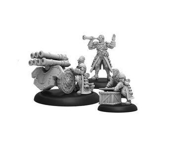Mercenaries - Steelhead Volley Gun Crew (3) (metal / resin) (PIP 41157)