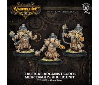 Mercenaries - Tactical Arcanist Corps (PIP 41102)