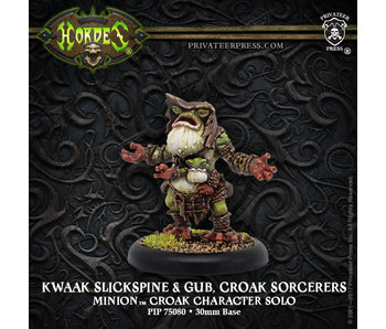Minons - Kwaak Slickspine & Gub, Croak Sorcerers Solo (Metal) (PIP 75080)