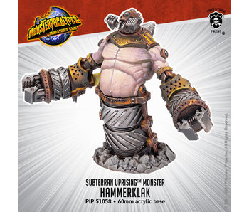 Monsterpocalypse - Destroyers Hammerklak (resin) (PIP 51058)