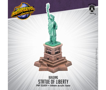 Monsterpocalypse - Terrain Statue of Liberty (resin) (PIP 51059)