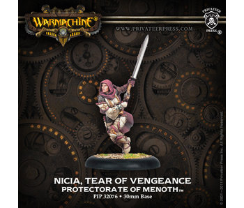 Protectorate of Menoth - Nicia Tear Of Vengeance (PIP 32076)