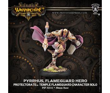 Protectorate of Menoth - Pyrrhus Flameguard Hero (PIP 32111)