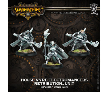Retribution of Scyrah - House Vrye Electromancers (PIP 35066)
