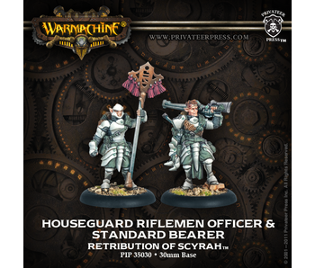 Retribution of Scyrah - Rifleman Officer & Standard (PIP 35030)
