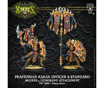 Skorne - Praetorian Karax Command & Standard (PIP 74096)