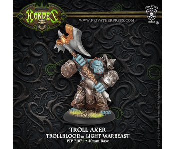 Trollbloods - Axer (PIP 71071)