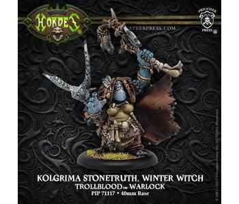 Trollbloods - Kolgrima Stonetruth, Winter Witch Warlock (PIP 71117)