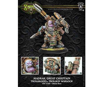 Trollbloods - Madrak Great Chieftan (PIP 71105)