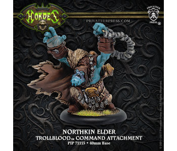 Trollbloods - Northkin Elder Command Attachment (Resin) (PIP 71115)