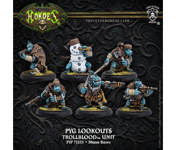 Trollbloods - Pyg Lookouts Unit (6) (Resin/Metal) (PIP 71111)