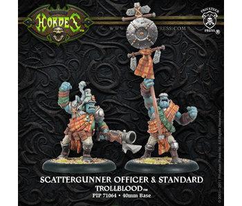 Trollbloods - Scattergunner Officer (PIP 71064)