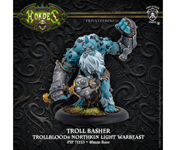Trollbloods - Troll Basher Light Warbeast (Resin/Metal) (PIP 71113)