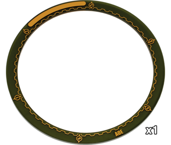 Warmachine 5 inches Area Of Effect Ring (PIP 91081)
