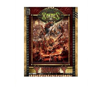 Forces of Hordes - Skorne Command HC (BOOK) (PIP 1097)