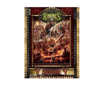 Forces of Hordes - Skorne Command HC (BOOK) (PIP 1097)