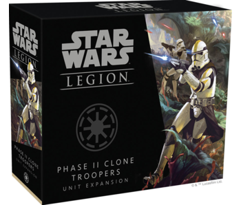 Star Wars Legion - Phase II Clone Troopers Unit