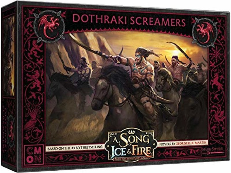 CMON A Song of Ice And Fire - Dothraki Screamers