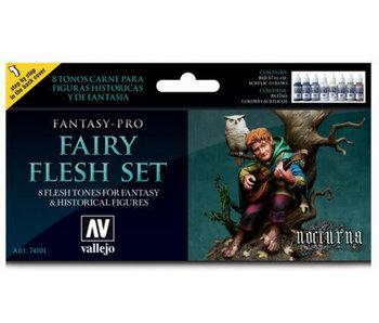 Vallejo - Fantasy-Pro 8 Color Set - Fairy Flesh Set (8)