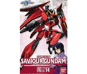 """Bandai #14 Savior Gundam """"Gundam SEED Destiny 1/100 Bandai"""