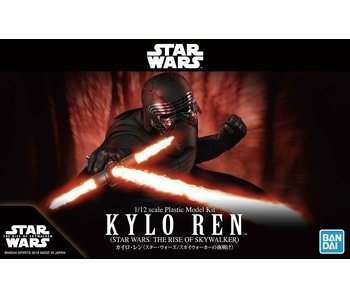 "Bandai Kylo Ren (Rise of Skywalker Ver.) ""Star Wars"", Bandai 1/12 Character Model Spirits"
