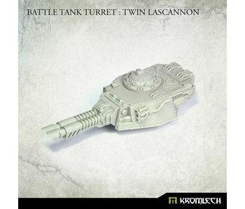 Battle Tank Turret - Twin Lascannon