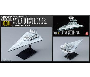 "Bandai 001 Star Destroyer ""Star Wars"", Bandai Star Wars Vehicle Model"
