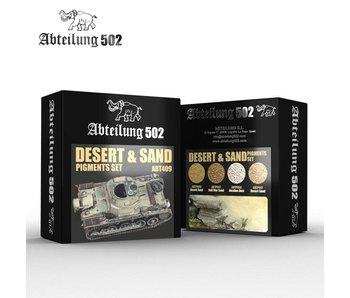 Abteilung 502 Desert & Sand - Pigment Set