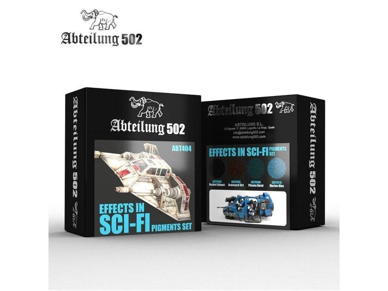 Abteilung 502 Abteilung 502 Effects In Sci-Fi - Pigment Set