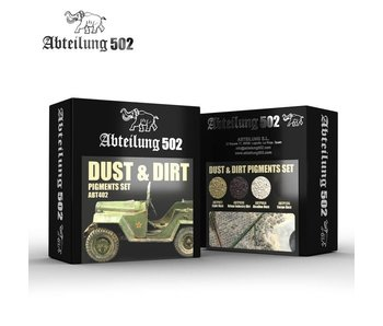Abteilung 502 Dust & Dirt - Pigments Set