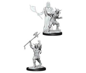 D&D Unpainted Minis Wv11 Male Human Barbarian