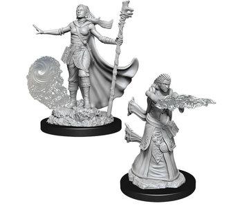 D&D Unpainted Minis Wv11 Female Human Wizard