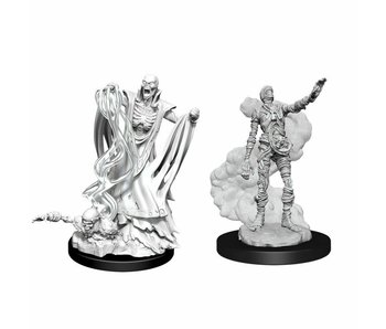 D&D Unpainted Minis Wv11 Lich And Mummy Lord