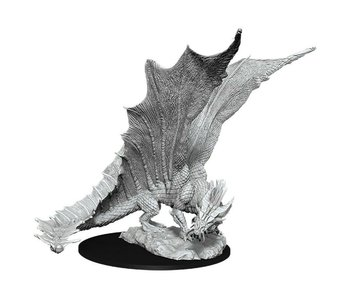 D&D Unpainted Minis Wv11 Young Gold Dragon