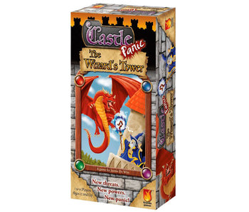 Castle Panic - The Wizard's Tower Expansion (English)
