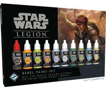 Star Wars Legion - Rebel Paint Set