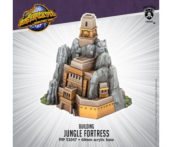 Monsterpocalypse Jungle Fortress Building Blister PIP51047