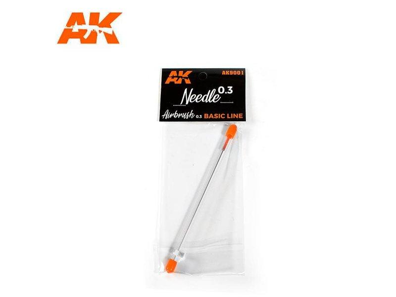 AK Interactive Ak Interactive 0.3 Needle Airbrush Basic Line 0.3