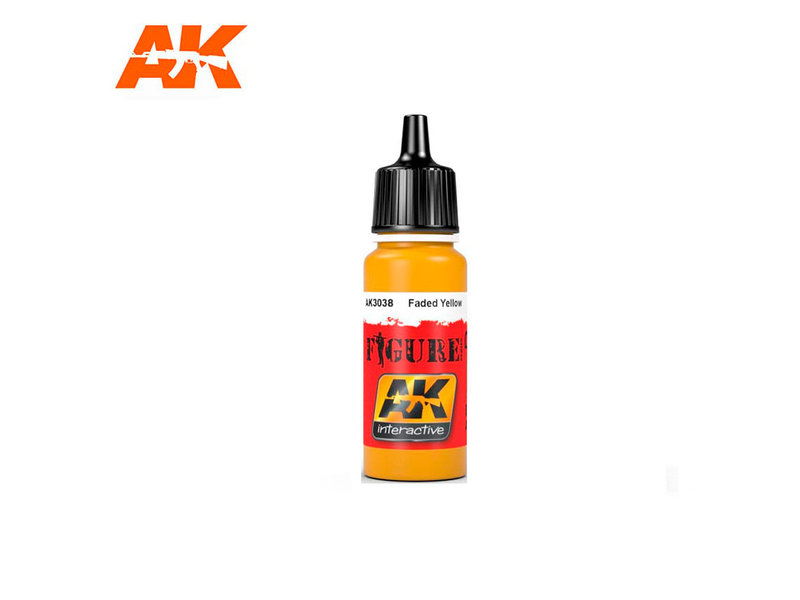 AK Interactive AK Interactive Faded Yellow (17ml)