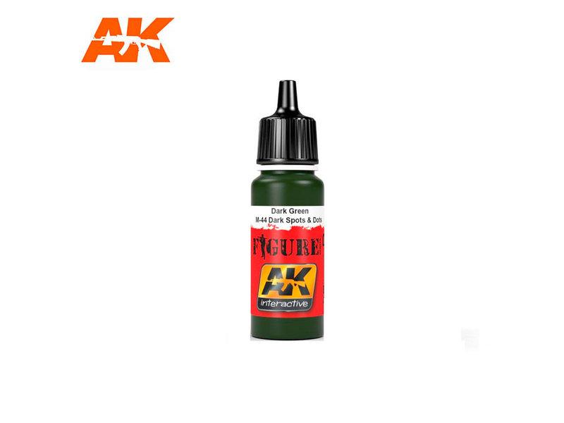 AK Interactive AK Interactive Dark Green / M-44 Dark Spots & Dosts (17ml)