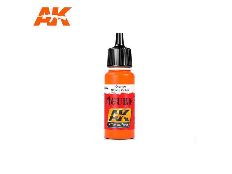 AK Interactive AK Interactive Orange / Strong Ocher (17ml)