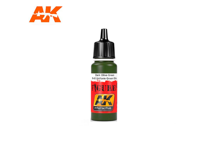 AK Interactive AK Interactive Bronze Green / Splittermuster Green Spots (17ml)
