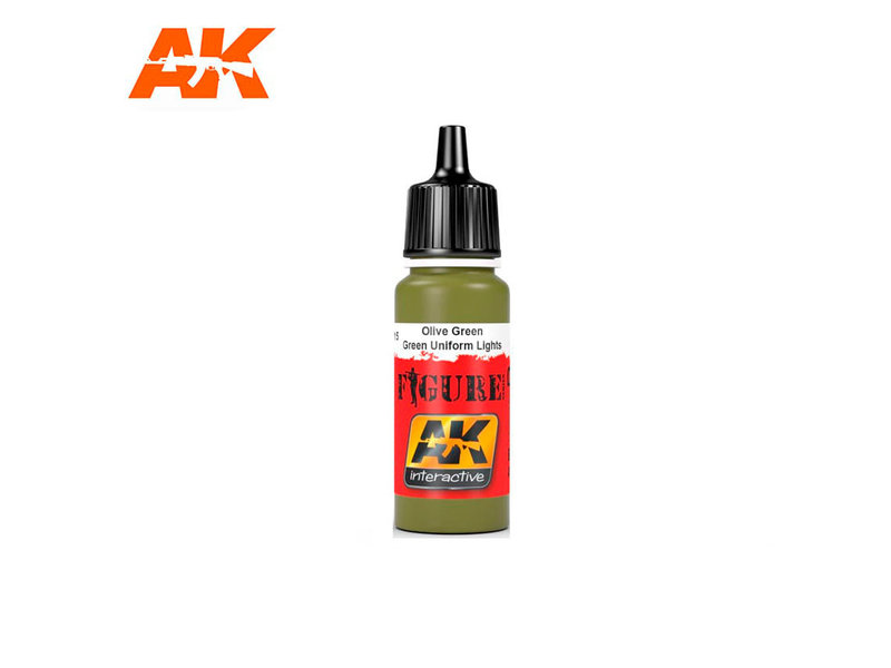 AK Interactive AK Interactive Green Uniform Lights (17ml)