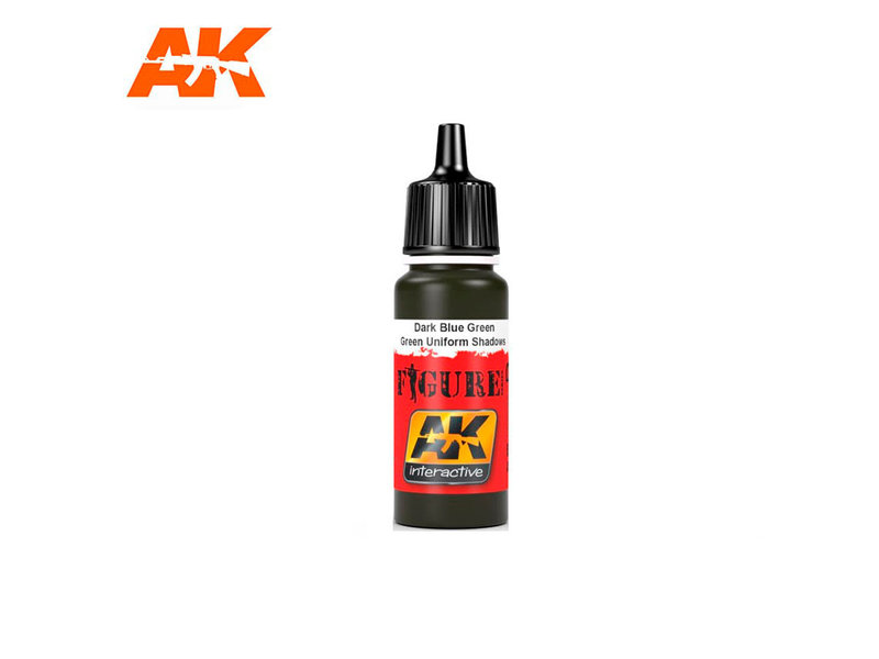 AK Interactive AK Interactive Dark Blue / Blue Tank Crew Base (17ml)