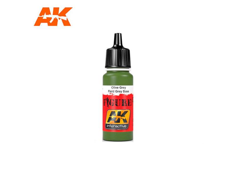 AK Interactive AK Interactive Field Grey Base 1 (17ml)