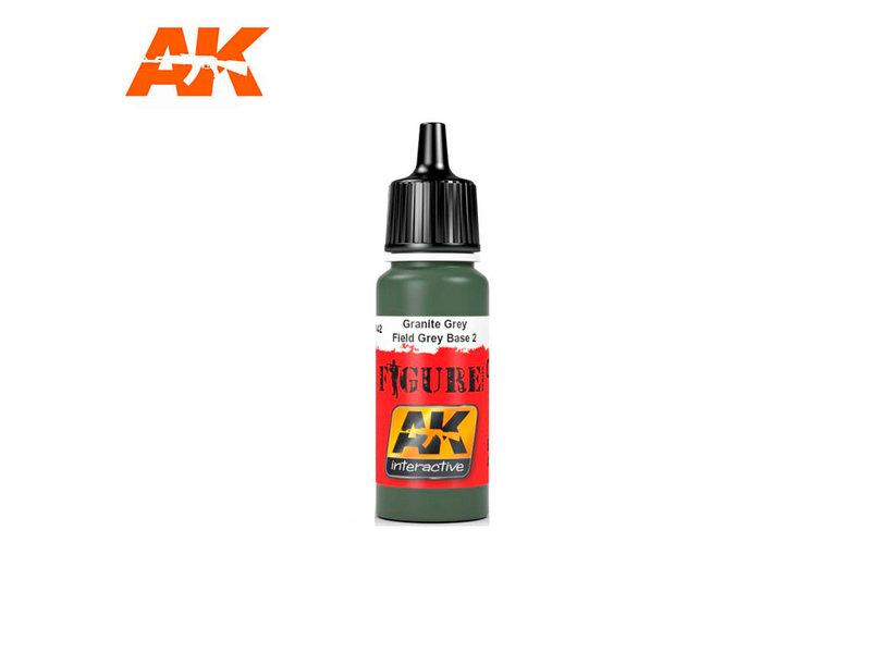 AK Interactive AK Interactive Field Grey Base 2 (17ml)