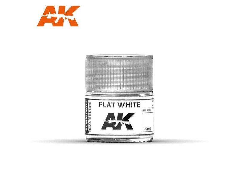 AK Interactive AK Interactive Flat White 10ml