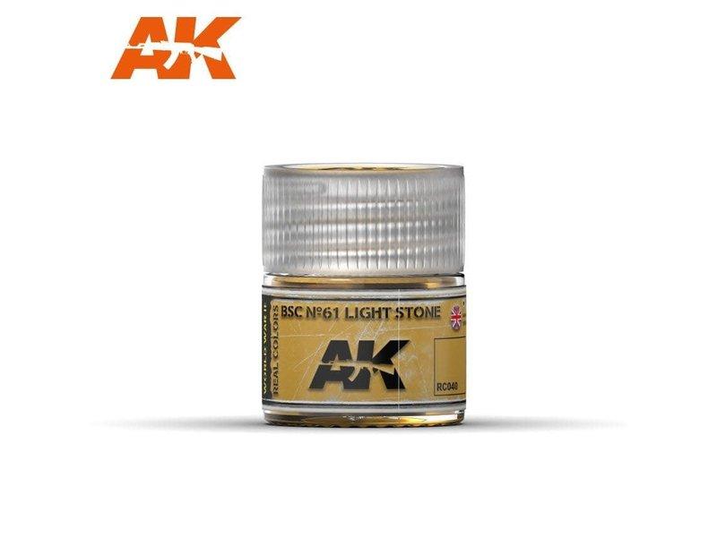 AK Interactive AK Interactive BSC No61 Light Stone 10ml