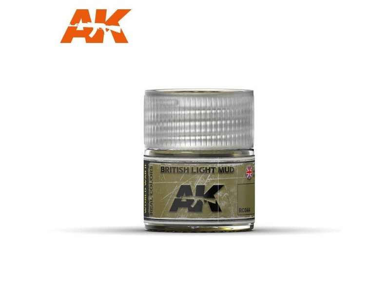 AK Interactive AK Interactive British Light Mud 10ml